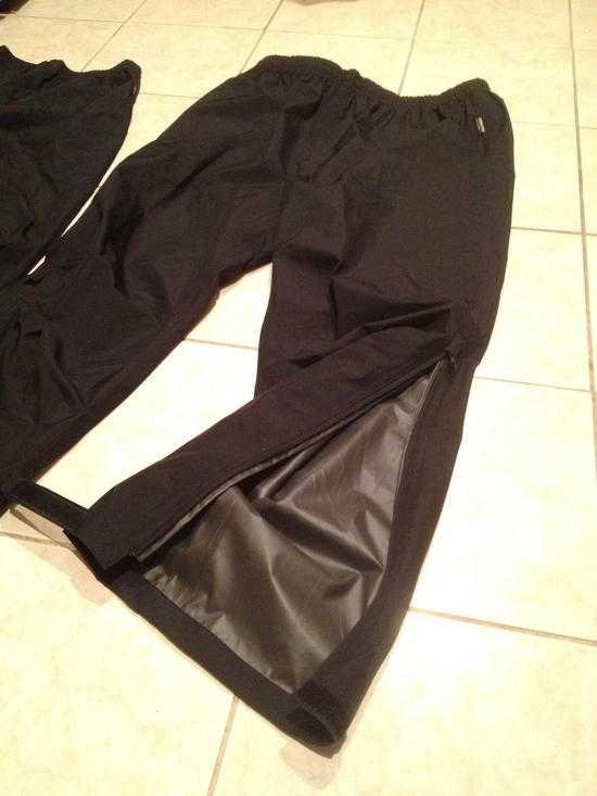 goretex pant zip
