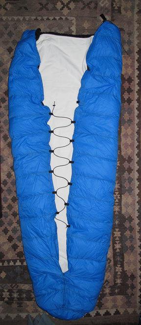 Quilt cord zigzag