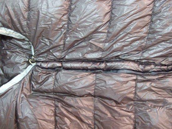 Nunatak sub draft tube inside out