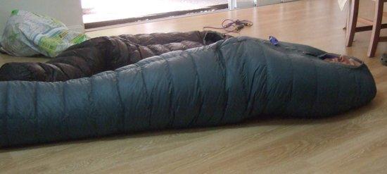 Nunatak alp inside bag full length