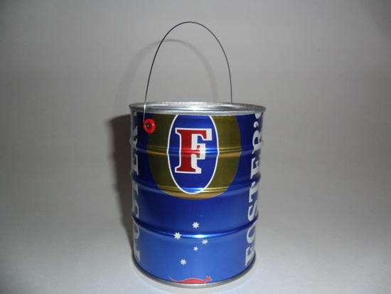 Fosters pot with stainless wire bail