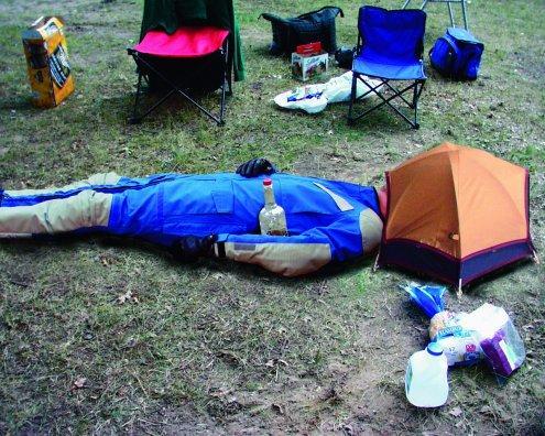 Head tent