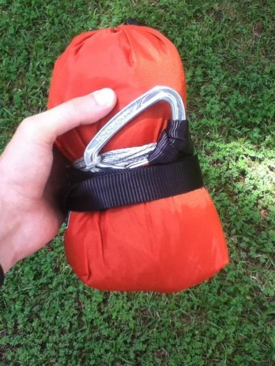 Hammock in bishop bag