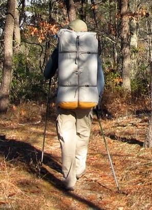 Kelty frame w/65L dry sack