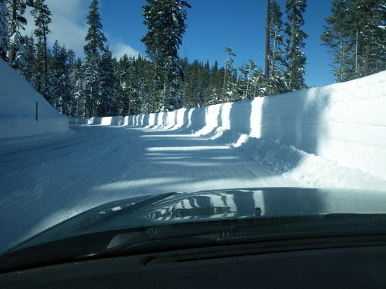 Badger Pass road over New Year's Holiday - Lots of Snow!!!