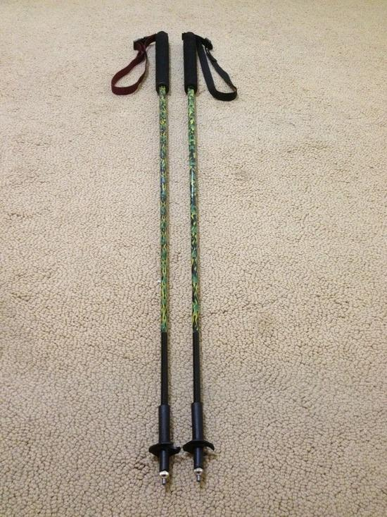 """Adjustable"" fixed length trekking poles"