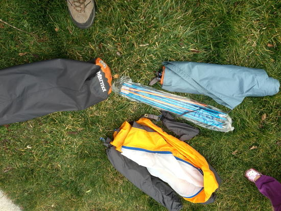 Tent body, fly, footprint, poles and all stuff sacks