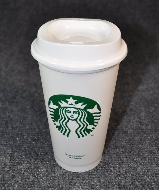 Starbucks reusable coffe cup