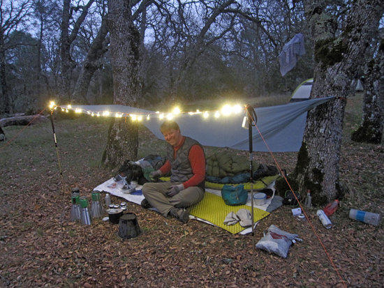 Lee of Trail Designs, Coolest Campsite to Hang Out At