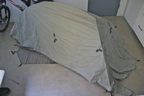 Freestanding BA tent