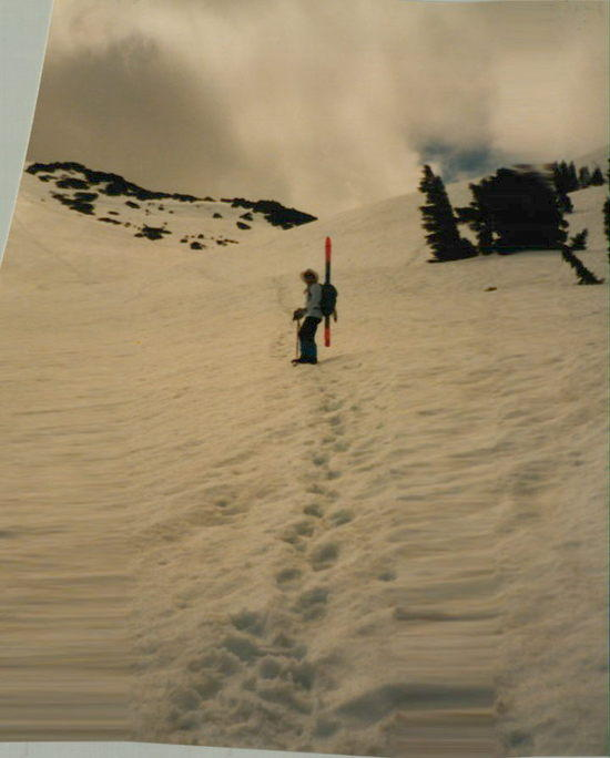 Climbing Mt. Talac