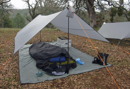Borah Gear Tarp and Bivy Setup