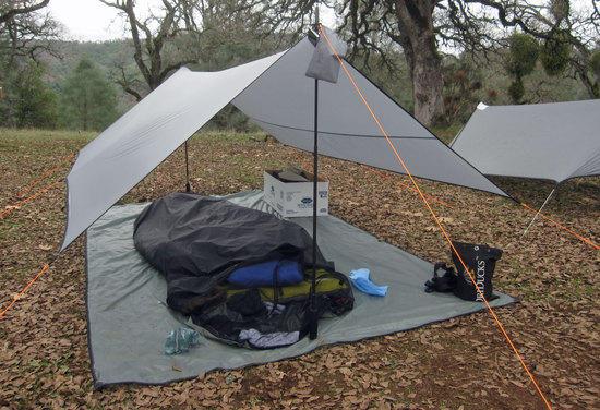 Borah Gear Tarp and Bivy Setup