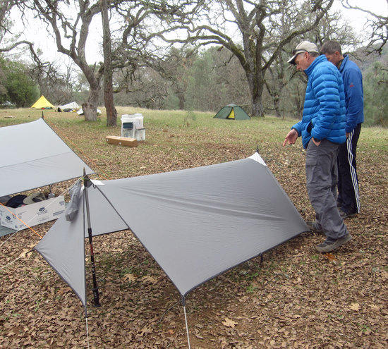 Tarp with Built In Ability to Close Both Ends in a Storm