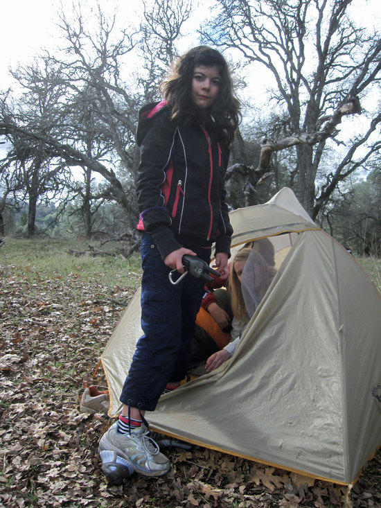 Stuffing Girls in a Tent