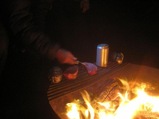Fire Side Grilling