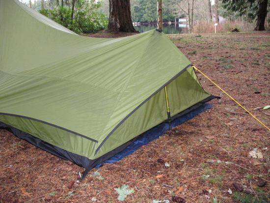 Tent Rear Side