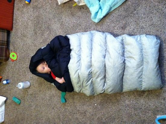 Little One's Sleeping Bag