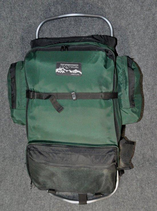 Jansport external frame backpack