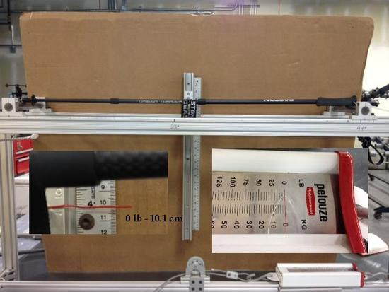 Easton Ultralight UL Carbon 3, Flex Test- 0 lbs