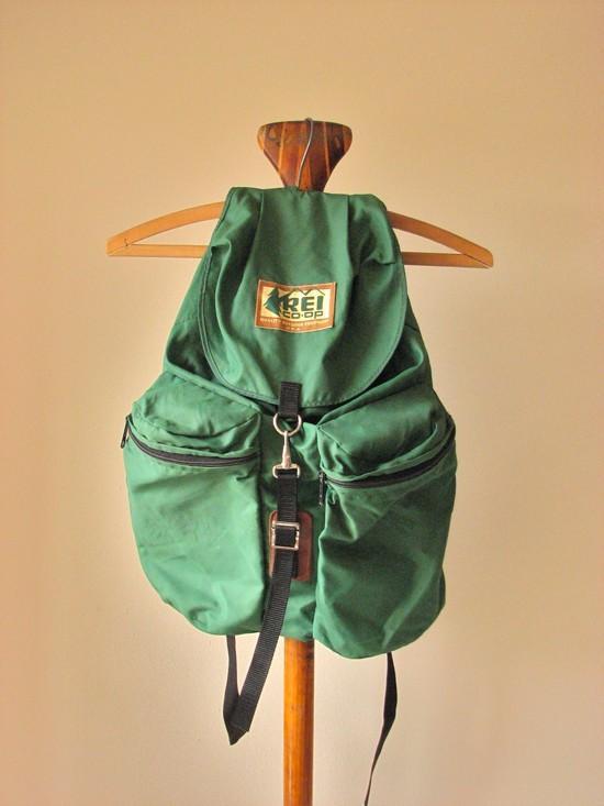 Vintage REI rucksack