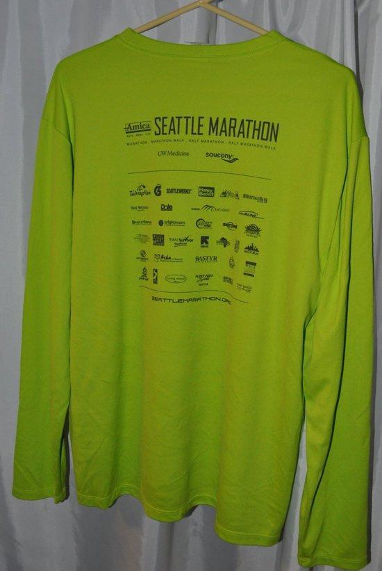 Marathon shirt