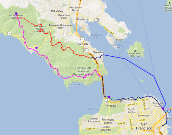 2-day-loop from SF