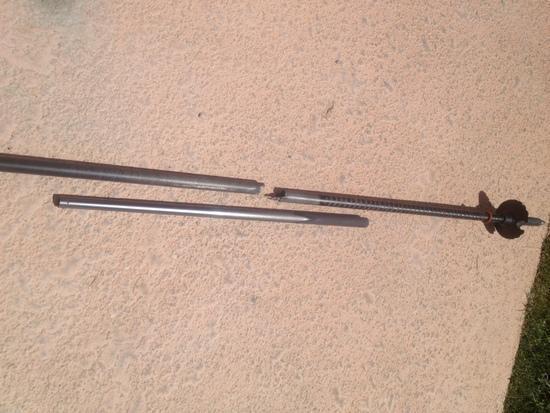 broken lower shaft