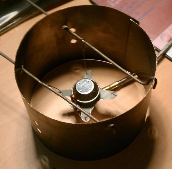 Modified stove