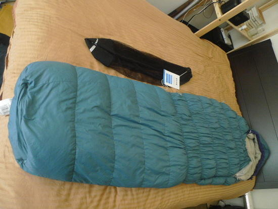 Nitro 15 Down sleeping bag