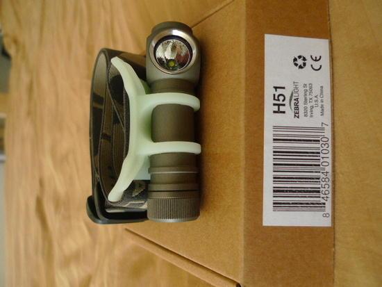 H51 Zebra headlamp