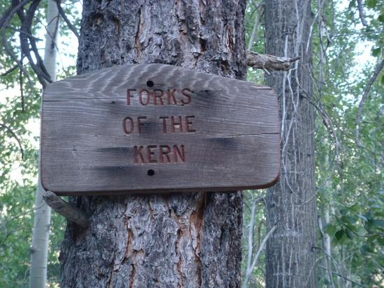 Forks of the Kern