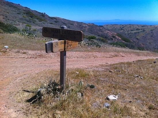 TCT trail sign