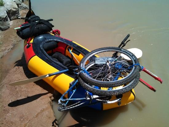 Packraft rigging