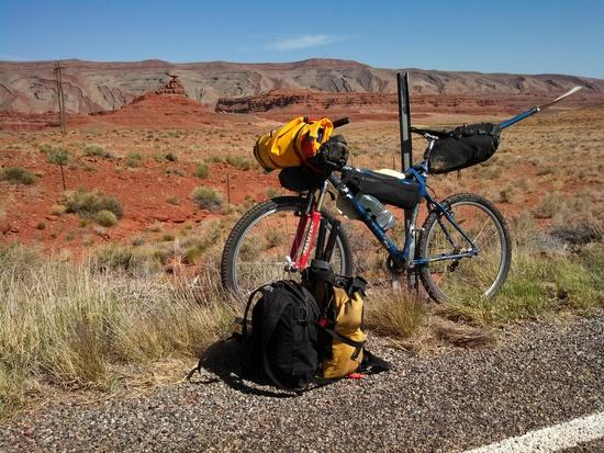 Bike at Mexican Hat