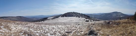 Cabin Ridge Panorama