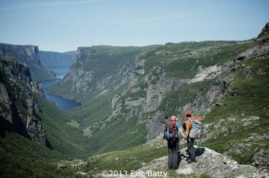The classic view of western brook pond