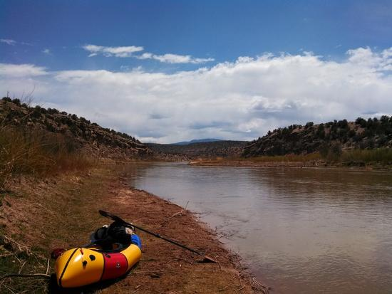 Abiquiu Reservoir take-out