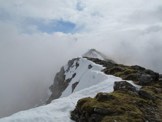 Ridge along Sgurr a Chaorachain