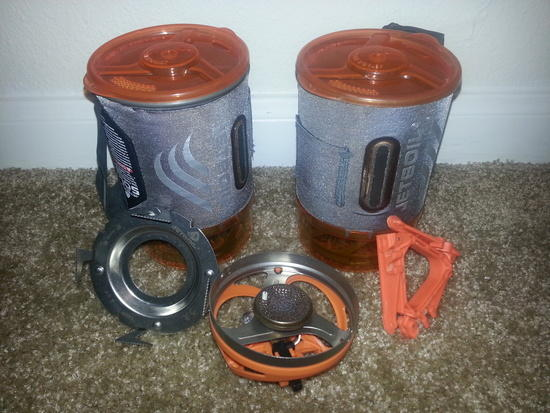 Jetboil Ti Sol with campanion cup