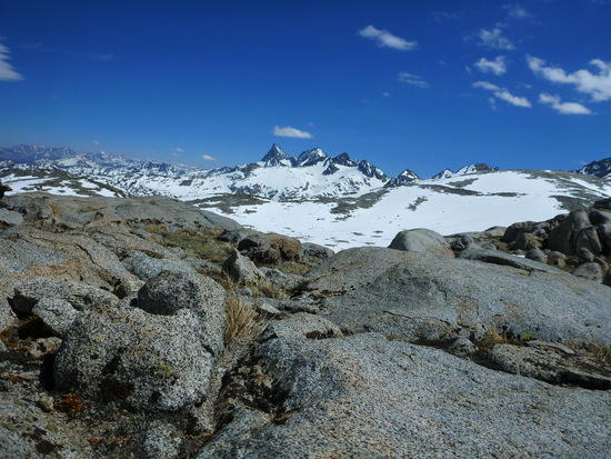 View from Donahue Pass