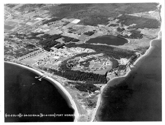 Fort Worden bluffs,1932