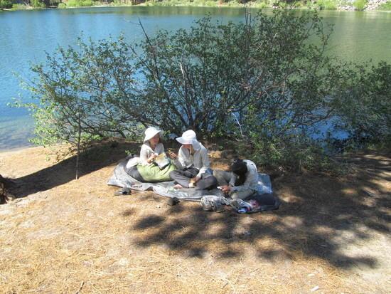 Break at Roosevelt Lake
