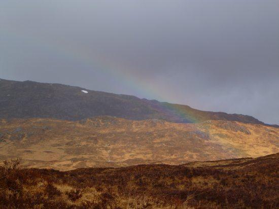 scotland WHW rainbow