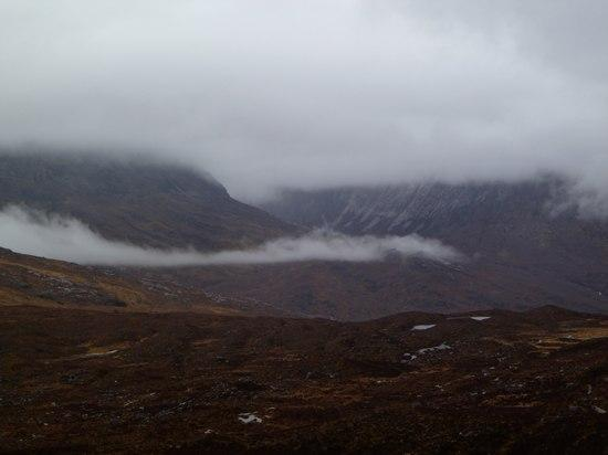 scotland weather low clouds