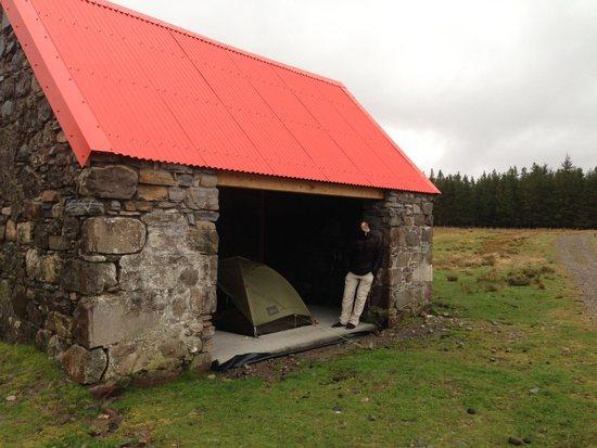 scotland fishing shelter