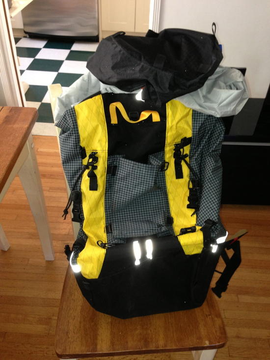 Front of pack