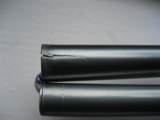 cracked tent pole & Cracked alloy tent pole - what to do? - Backpacking Light