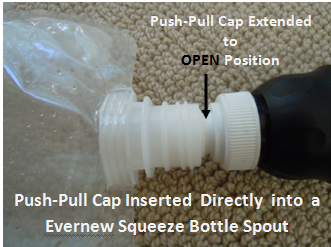 Direct Insertion Push-Pull Cap
