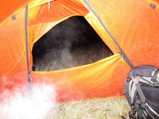 Steam Out Tent Door 1621